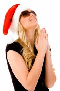 santa pray